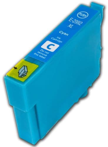 1 x 29xl T2992 Cyan High-Capacity Compatible Strawberry Ink Cartridge for Epson XP Printers