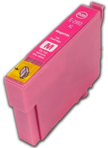 1 x 29xl T2993 Magenta High-Capacity Compatible Strawberry Ink Cartridge for Epson XP Printers