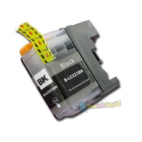 1 x Black Brother LC223BK Compatible  Ink Cartridge