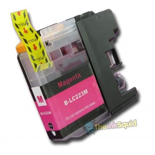 1 x Brother LC223M Magenta (Red) Compatible Ink Cartridge