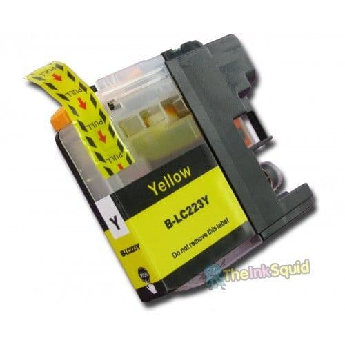 1 x Brother LC223Y Yellow Compatible Ink Cartridge