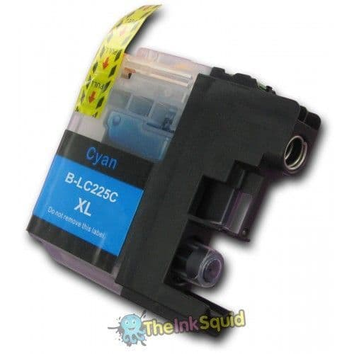 1 x Brother LC225C XL Cyan (Blue) Compatible Ink Cartridge