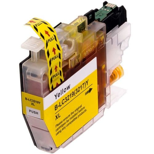 1 x Brother LC3217 / LC3219 Yellow XL Compatible Ink Cartridge