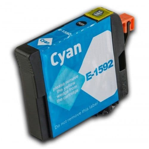 1 x Chipped Compatible Epson T1592 Cyan/Blue Ink
