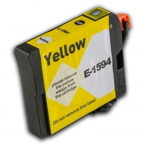 1 x Chipped Compatible Epson T1594 Yellow Ink