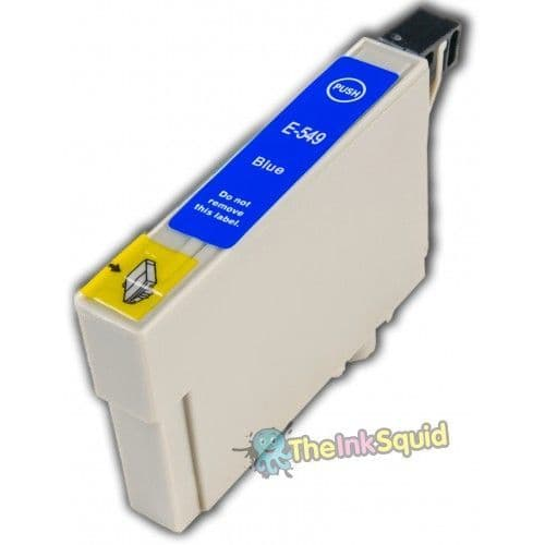 """1 x Compatible Blue Epson""""Frog"""" T0549 Non-oem Ink Cartridge"""