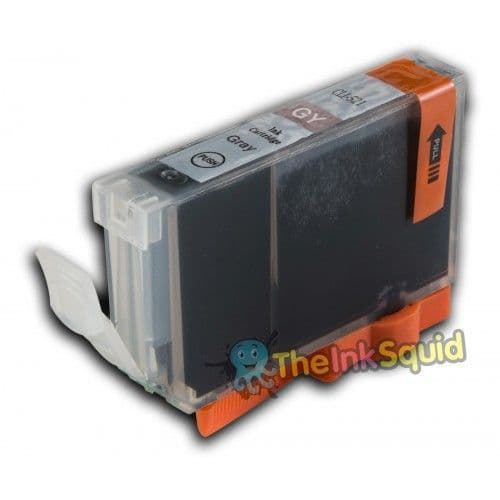 1 x Compatible Canon CLI-521GY Grey Ink Cartridge