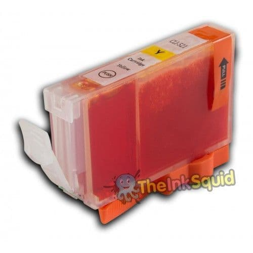 1 x Compatible Canon CLI-521Y Yellow Ink Cartridge