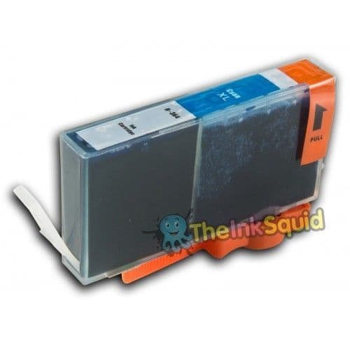 1 x Cyan/Blue High-Capacity HP 364 XL Compatible Chipped Ink Cartridge (CB318EE)