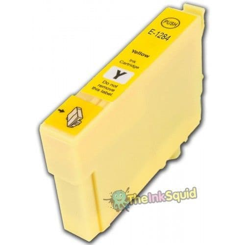 1 x T1284 Yellow High-Capacity Compatible Fox Ink Cartridge for Epson Stylus