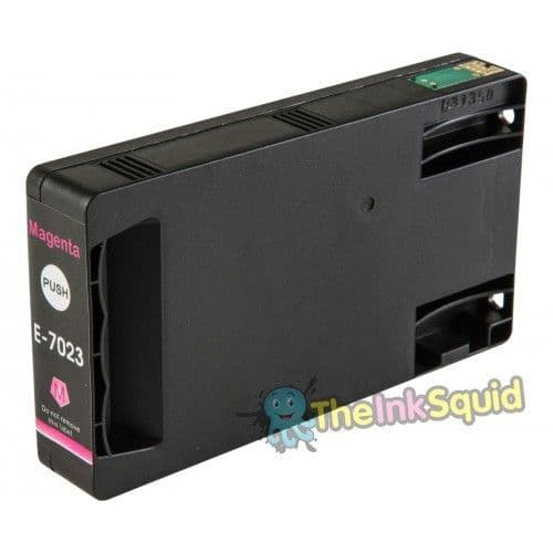 Magenta T7023 XL Eiffel Tower Compatible Ink Cartridge