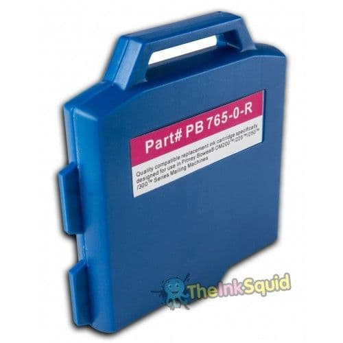 Red non-oem PB765-0 Franking ink cartridge for Pitney Bowes DM200 DM225 DM250 DM