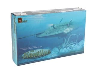 20,000 Leagues Under The Nautilus Submarine Model Kit By Pegasus