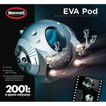 2001 A Space Odyssey EVA Pod 1:8 Scale Model Kit