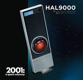 2001 A Space Odyssey HAL9000 1:1 scale kit