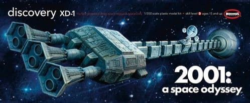 2001 Discovery - 1:350 Scale Model Kit  from Moebius