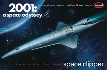 2001 Space Clipper  large  1:72 scale Model Kit  Moebius Models
