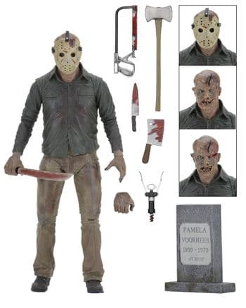 FRIDAY THE 13TH ULTIMATE PART 4 JASON ACTION FIGURE NECA
