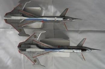 Captain Scarlet Spectrum Passenger Jet 1:48 Scale GRP Model Kit By UNCL