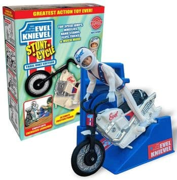 Evel Knievel Stunt Cycle Limited Edition Exclusive Trail Bike Edition