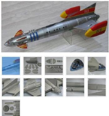 "Fireball XL5 18"" GRP Model Kit UNCL"