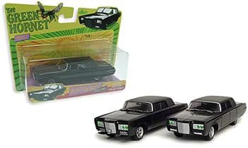 GREEN HORNET BLACK BEAUTY 1:50 SCALE DIECAST FACTORY ENT