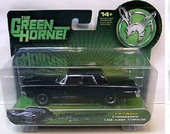 GREEN HORNET BLACK BEAUTY STREET MODE 1:50 SCALE DIECAST FACTORY ENT