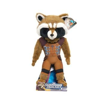 Guardians Of The Galaxy Rocket Raccon 15 inch Plush Toy U.S. Exclusive