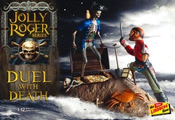 Jolly Roger Duel with Death 1:12 Model Kit - from Polar Lights