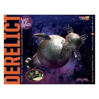 Lost in Space Derelict and Jupiter 2 1:350 Scale Model Kit