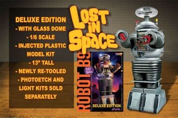 LOST IN SPACE ROBOT 1/6 SCALE DELUXE MODEL KIT MOEBIUS MODELS NEW
