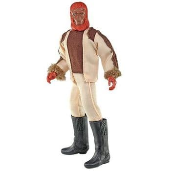 """Mego Planet Of The Apes Dr Zaius 8"""" Figure"""