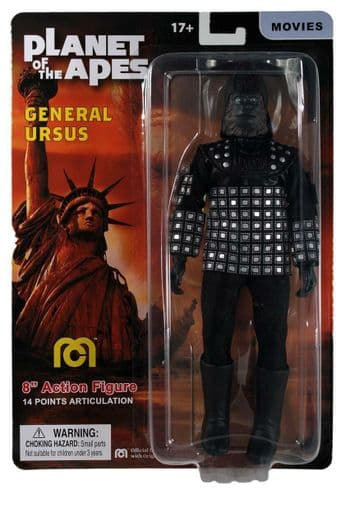 Planet of the Apes General Ursus Mego 8-Inch Action Figure