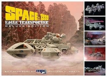 SPACE 1999 EAGLE 1 TRANSPORTER DELUXE VERSION 1:72 SCALE MODEL KIT MPC