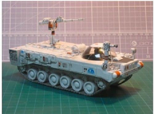 Space 1999 Laser Tank Defence Type 3 GRP Model Kit By UNCL