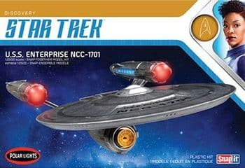 Star Trek Discovery USS Enterprise  1:2500 Scale Model Kit