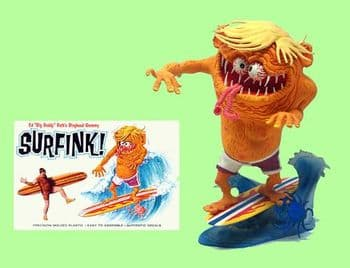 """SurFink Ed """"Big Daddy"""" Roth Re-Issue Model Kit by Atlantis Surf Fink"""