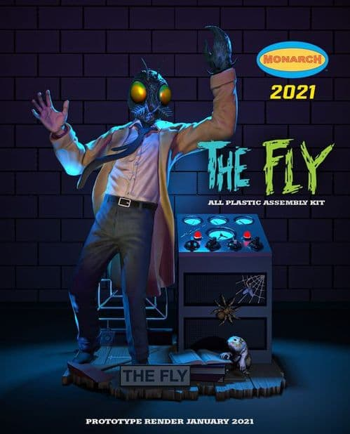 The Fly 1/8 Scale Plastic Model Kit