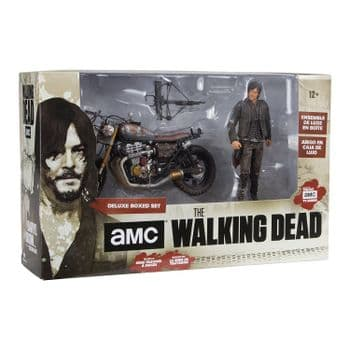 The Walking Dead Daryl Dixon with bike new version