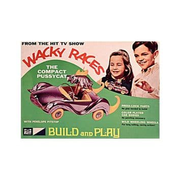 Wacky Races - Penelope Pitstop's Compact Pussycat from MPC