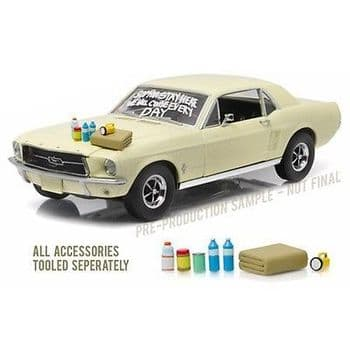 Walking Dead 1967 Ford Mustang Coupe 1:18 Die-Cast Vehicle
