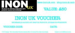 INON UK £50 Gift Voucher