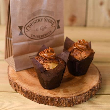 Apple & Toffee Muffin