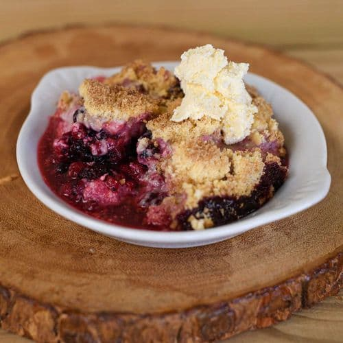Mixed Berry Crumble