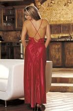 Stunning Red Long Gown Nightdress.