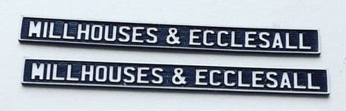 LX093-OO Laser Engraved Signal Box Nameplates OO/4mm/1:76
