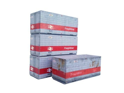 AX007-N 20ft Freightliner Containers Non-ISO N/2mm/1:148