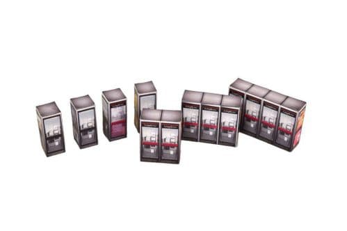 AX016-OO Modern UK Telephone Boxes Card Kit OO/4mm/1:76