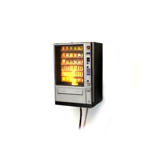 AX025-OO Snack Vending Machine Kit With LED Illumination OO/4mm/1:76