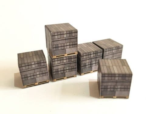 AX029-OO Palletised Loads Set 2 Breeze Blocks (Pack of 12) OO/4mm/1:76
